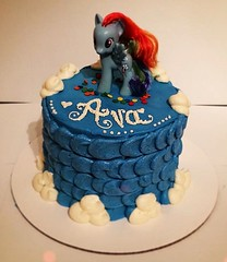 My Little Pony cake by  Amber and Brittany, Pittsburgh, PA, www.birthdaycakes4free.com