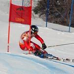 Riley Seger (BCST/WMSC), 1st at Schweitzer GS PHOTO CREDIT: Derek Trussler