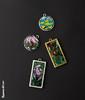 Mosaic Jewellery (25) (Kupava ArtHome) Tags: flowers jewellery frame mosai kupavaart