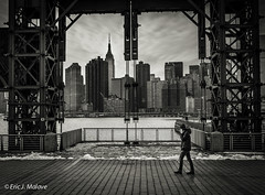 Framed (ericjmalave) Tags: new york city longexposure white black canon island long 5d 1740mm sigma50mm14