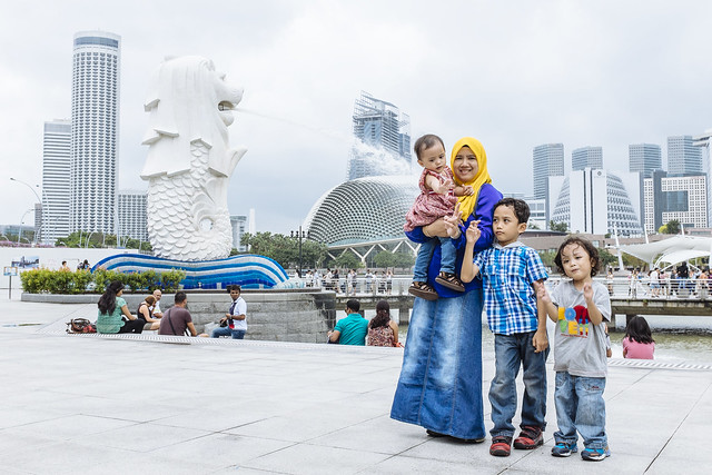 Singapore Family Trip | The Merlion