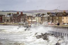 IMG_6005_adj (md93) Tags: sea cinema storm beach clyde waves ship wind south windmills hightide turbines ardrossan saltcoats supertide samjohnlegacy