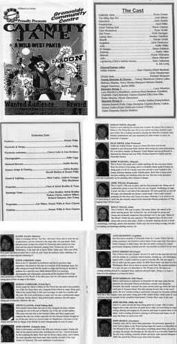 2009 Calamity Jane 00 Programme