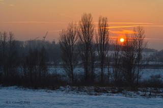 Sunset in Wojkowice