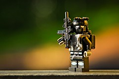 New Badass in town (yudho w) Tags: lego military minifig minifigs minifigure