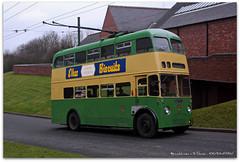 Trolleybus 433 (zweiblumen) Tags: uk england dudley westmidlands trolleybus 433 tipton polariser blackcountrylivingmuseum canoneos50d zweiblumen duk833 wolverhamptoncorporation wwwbclmcouk sunbeamw4