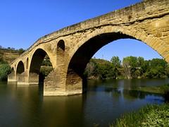 Panorama del puente (Asun Idoate) Tags: santiago de puente camino nafarroa