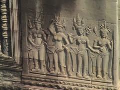 Stone Carved Apsaras