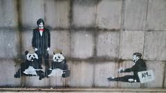 / 27 feb 2015 (Ferdinand 'Ferre' Feys) Tags: streetart artdelarue graff graffitiart graffiti belgium mechelen stencil dirupo panda urbanart belgique belgië urbanarte arteurbano ferdinandfeys