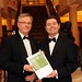 Gala Dinner Tim Fenn, CEO IHF and Minister Pascal Donohoe, TD