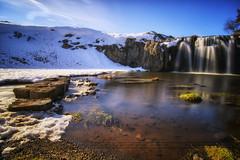 La cascade (Marc.M) Tags: pose nikon eau marc neige cascade hdr auvergne haida longue nd1000 nikond90 meynadier marcenat