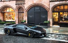 Stealth. (Alex Penfold) Tags: black london cars alex car super p autos lamborghini 86 supercar matte supercars penfold 2015 novitec torado 86p aventador