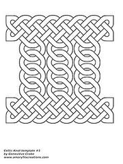 Celtic knot template 1 (Amaryllis Creations) Tags: celticknot zentangle