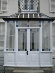 New entrance on listed building