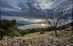 A winter's end of the day (Vagelis Pikoulas) Tags: winter sunset sea cloud seascape tree clouds canon landscape eos scenery europe cloudy scene tokina greece february attica 6d 2015 attiki vilia psatha 1116mm