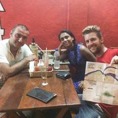 Pizza dinner in Corumba