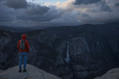 The View (shaunezell) Tags: california camping camp sky mountain mountains yosemitefalls clouds dark sony atmosphere merced adventure valley yosemite vista yosemitenationalpark yosemitevalley mountainrange sonya7 yosemiteconservancy