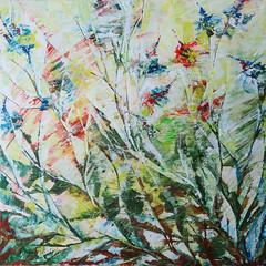 Flora. Acrylic abstract painting (pestinairina) Tags: abstract art painting flora acrylic arte astratto acrilico pittura