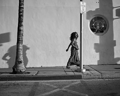 Me& My Shadow (35mmStreets.com) Tags: street city portrait urban bw 35mm photography blackwhite nikon df little florida miami sony havana kittens d750 nik southbeach dsc sobe lightroom washingtonstreet d600 collinsave d4s silverefex 35mmstreets rx1rm2