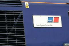 43020 MTU Power Passion Partnership (uktrainpics) Tags: 43020 mtu power passion partnership class 43 hst teignmouth