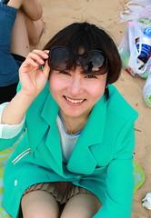 Echo smiles (BenValjean) Tags: echo canon eos 500d eos500d dslr benjamingoodacre bengoodacre goodacrephotography summer  travel china  asia  orient yantai