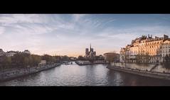 Sunset in Paris (emeric_) Tags: paris france sunset notredame ilesaintlouis panasonic lumix gh4