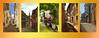 Alleys in Buje Istrië / Steegjes Buje Istrië (jo.misere) Tags: collage buje istrië steegjes alleys