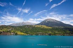 France - Lac de Serre Poncon (beppeverge) Tags: lake france landscape lago alpi francia paesaggio beppeverge