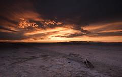DSC_0631_ RING of FIRE (antelope reflection) Tags: light orange color yellow fire gold utah dusk antelopeisland utahstatepark nikond750