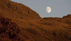 Martian Moonrise (Nick Landells) Tags: moon sunset golden light mars martian lakedistrict uppereskdale