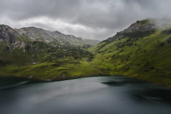 Mountain Lake (fbocplr) Tags: landscape lake forest mountains water nature light cloudy urban rocks beautiful green austria mountain photograph mood exposure exploration photographer adventure amazing foggy popular capture sterreich picoftheday allshots photodaily