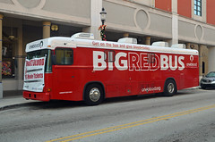 Big Red Bus M14 (Emergency_Vehicles) Tags: big red bus m141 one blood west palm beach florida