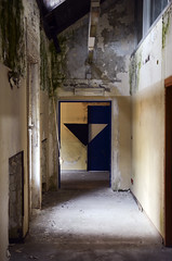 AK (| Ak |) Tags: abstract art abandoned geometric triangles triangle geometry ak optical illusion walls anamorphic opart abandonedspace postgraffiti opticalart akdwg