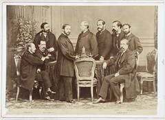 """Jean Laurent, """"Gobierno provisional"""" (cabinet, 1868) (Museo del Romanticismo) Tags: jean museo historia laurent xix fotografa siglo romanticismo"""