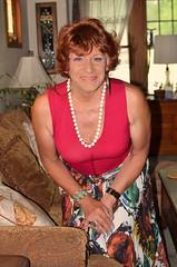 Just Me (Laurette Victoria) Tags: laurette woman auburn pose shoulders necklace