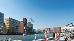Cronos Mnster Hafen (renderfriends.com) Tags: visualisierung visualization coronarenderer architecture