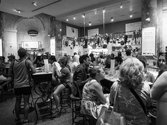 This is why it's called Eataly (C@mera M@n) Tags: eataly blackandwhite manhattan newyorkcityphotography nyc newyorkcity newyork urbanlife people monochrome places ny unitedstates us