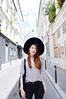 DSC_0028 (Likeabyul) Tags: revival hm korea korean chinese french style blogger fashion fashionblog fashionblogger styleblogger grey black hat widebrimmedhat pleather lookbook girl asian nastygal likeabyul look asiangirl frenchblogger france paris oldandnew