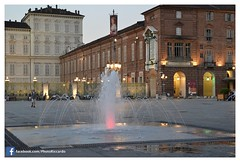 Torino by Night - Luglio 2016 Riccardo Evola 02 (Riccardo Evola) Tags: torino turin night city po murazzi piazzacastello palazzomadama piazzasancarlo piemonte turismo