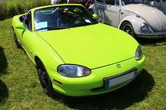 Mazda MX-5 (alex73s https://www.facebook.com/CaptureOfAlex?pnr) Tags: auto automobile automotive car coche classic canon cabriolet voiture vehicule transport rassemblement retro macchina meeting mazda mx5 japonaise japanese green vert