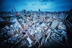 City Skylines of Tokyo (hidesax) Tags: cityskylinesoftokyo cityscape skyline tokyotower roppongihills toranomonhills others tokyo japan hidesax sony a7ii voigtlander 10mm f56