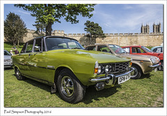 1976 Rover 3500S (Paul Simpson Photography) Tags: retro rover rover3500s british lincolncarshow lincolncastle lincolnshire lincoln sonya77 may2016 paulsimpsonphotography photoof photosof imagesof imageof greencar 1970s 1976 transport auto sunshine