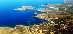La Isla II (Montse;-)) ON-OFF) Tags: mar isla rocas avioneta paseo momentos felicidad paz aventura placer viaje