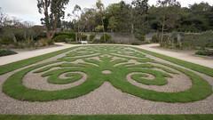 Decorative (Peter E. Lee) Tags: grass castle spring gravel talbotbotanicgarden ireland pattern garden roi republicofireland walledgarden 2016 ire eire malahide dublin ie
