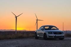 TT mkI (Stroget) Tags: audi tt mk1 8n ttmk1 audicar car coche aerogeneradores wheels windmill sunshine landscape nikon d5100 85mm