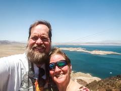 Lake mead selfie (bossco) Tags: lakemead coloradoriver lynetteshobe raymondshobe