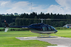 Bell Jet Ranger III (NEX69) Tags: helikopter hubschrauber belljetrangeriii flugplatzberomnster landessender