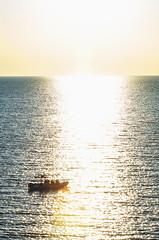 Sea-crossing (Francesco Alemanno) Tags: sea seaside water love light sunset sun ray