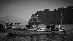 Boat (jipan) Tags: blackandwhite bnw boat beach malang