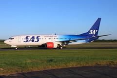 LN-RGI_MAN_290816_KN_269 (JakTrax@MAN) Tags: lnrgi sas scandinavian airlines egcc man manchester boeing 737 737800 celebrating 70 years 70th anniversary